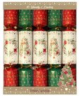 Family Christmas Crackers rood/groen