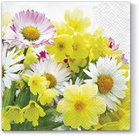 TAT Lunchservet Yellow Bouquet