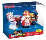 Fisher-Price Little People Sinterklaas en Piet - Speelfiguren