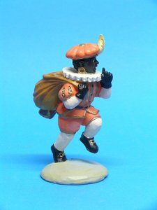 Zwarte Piet met zak