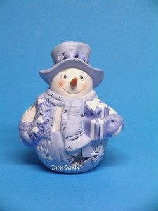 Sneeuwman met pakjes