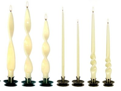 Workshop gedraaide kaarsenmaken
