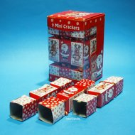 Christmas Crackers rood
