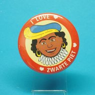 Button I love Zwarte Piet